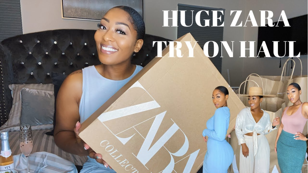 Download HUGE ZARA TRY ON HAUL   TRANSITIONAL PIECES