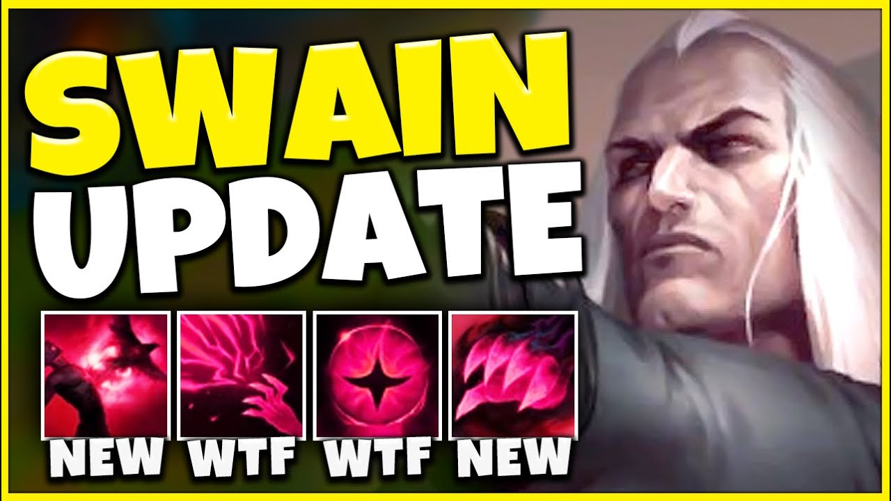 *MINI-REWORK* SWAIN HAS A GLOBAL AOE SPELL NOW (NEW GOD-TIER MAGE) - League of Legends