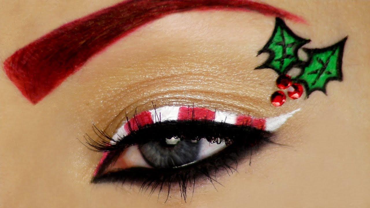 Image result for christmas eye makeup