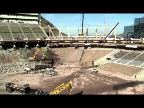 Sun Devil Stadium Construction Timelapse