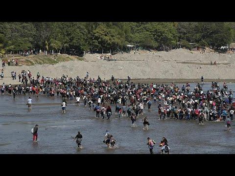 شاهد: مهاجرون من أمريكا الوسطى يعبرون نهراً بين غواتيمالا والمكسيك…  - نشر قبل 10 ساعة