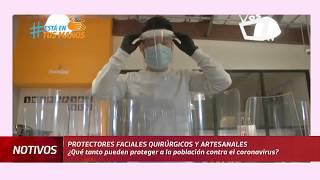 Los protectores faciales ¿Qué tanto protegen contra el coronavirus?