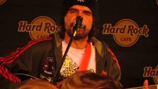 Noize MC - Ругань из-за стены (Live @ Hard Rock Cafe, 08.12.13)
