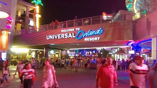 Universal CityWalk Orlando 2019 at Night | Walking Tour