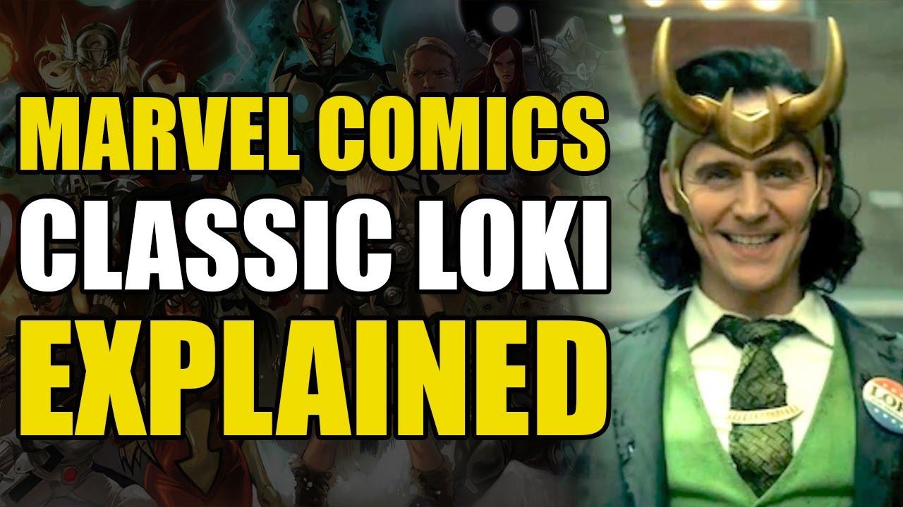 Marvel Comics: Classic Loki Explained   Comics Explained