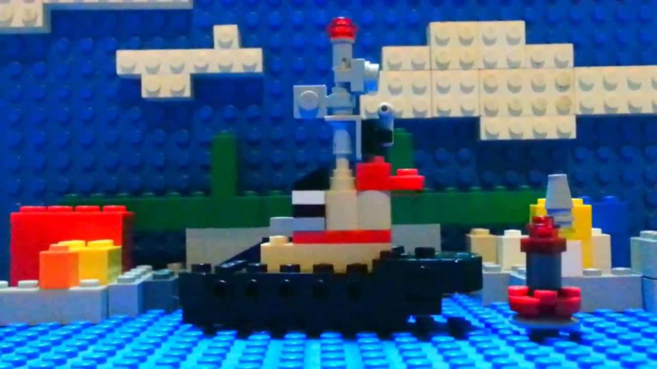 Lego Theodore Tugboat - YouTube