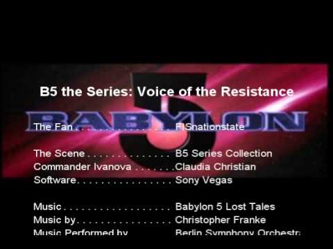 B5 the Series: Voice of the Resistance Launch Speech