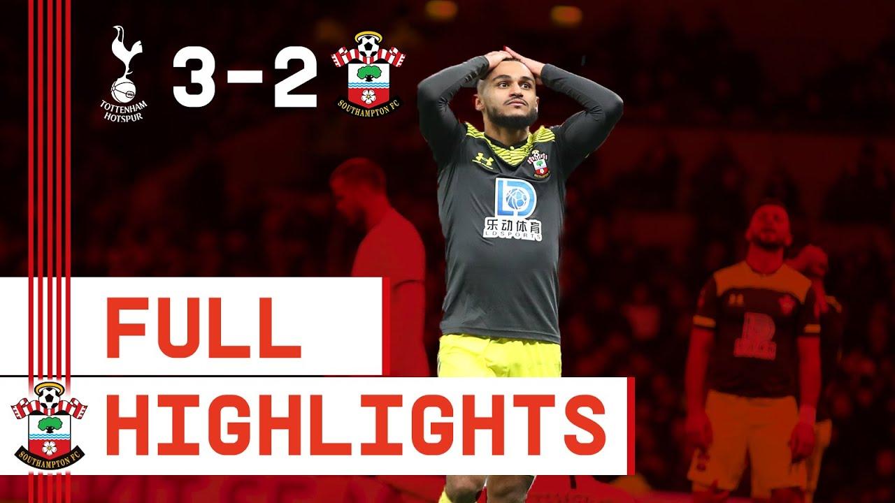 HIGHLIGHTS: Tottenham Hotspur 3-2 Southampton   FA Cup