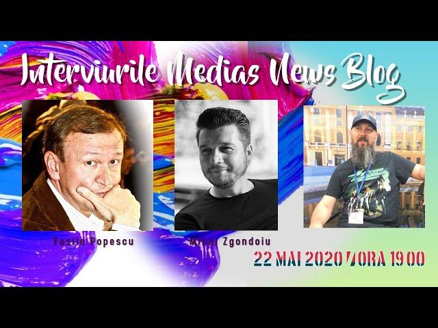 Vasile Popescu si Mihai Zgondoiu la Interviurille MNB
