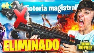 EPIC VICTORIA EN EL MODO DE JUEGO *ELIMINADO* de FORTNITE: Battle Royale!! - Agustin51