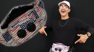 FANNY-PACK WITH A SPEAKER?!