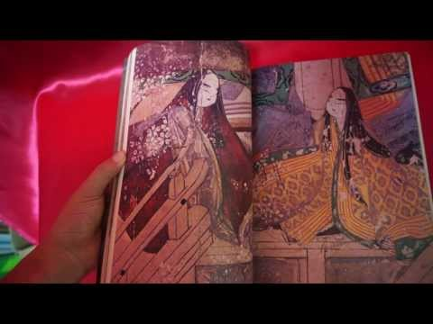 """Japanese Cultur Vintage """"The Tale of Genji"""" Japanese reference book Out of print"""