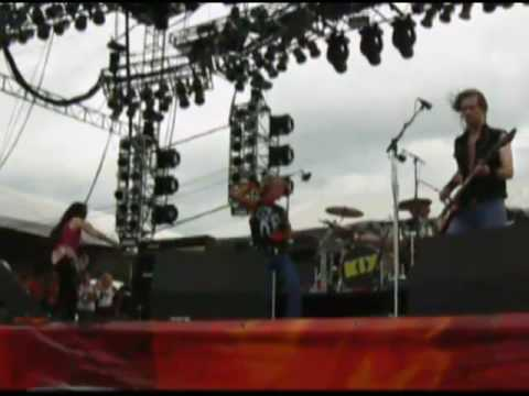 KIX - Cold Blood w/ Dee Snider at Rock The Bayou '08