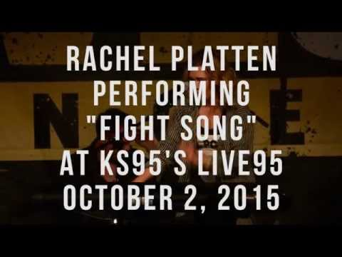 Rachel Platten - Fight Song (KS95's Live95 Performance)