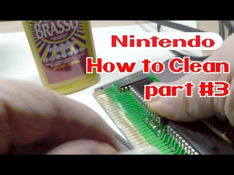 How to clean NES Cartridges - BRASSO Method