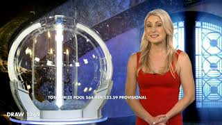 Powerball Results Draw 1269 Thursday 10 September 2020 The Lott Youtube