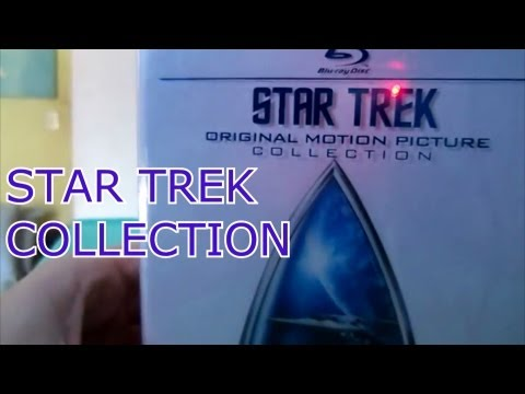 Star Trek - original motion picture collection ( minha coleção de Blu-ray e DVDs)