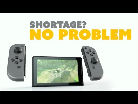 Nintendo Switch Shortage NOT A PROBLEM - The Know Game News