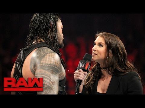 Roman Reigns wants payback against Braun Strowman...