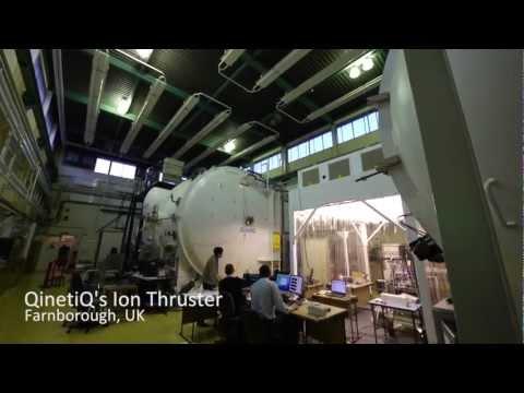 The Ion Thruster at QinetiQ, Farnborough