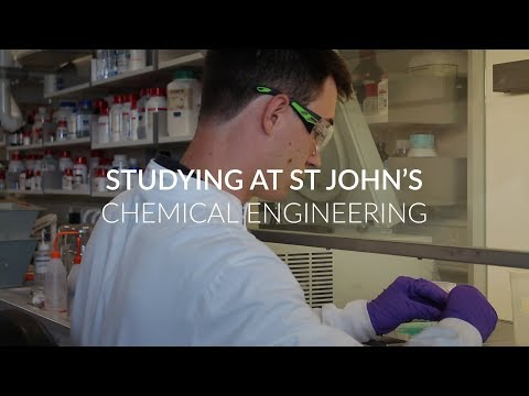 Chemical Engineering at St John's