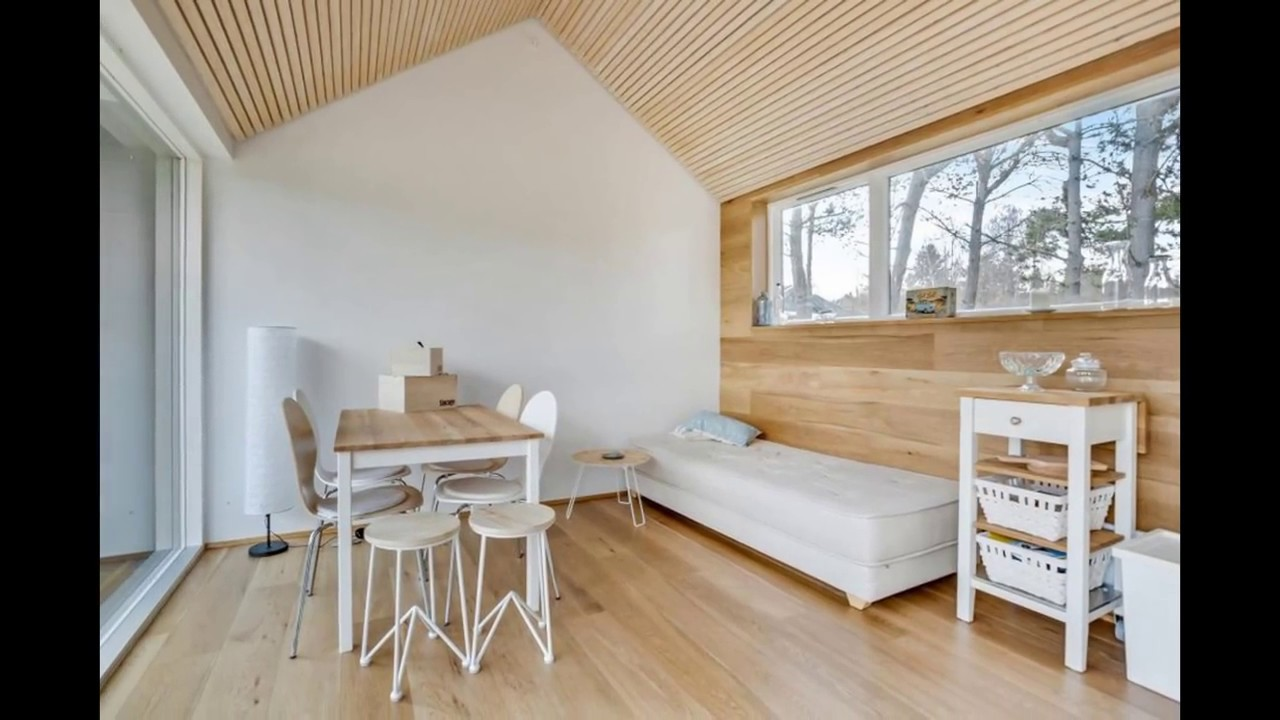 Scandinavian Modern Tiny House :: Small House Design Ideas
