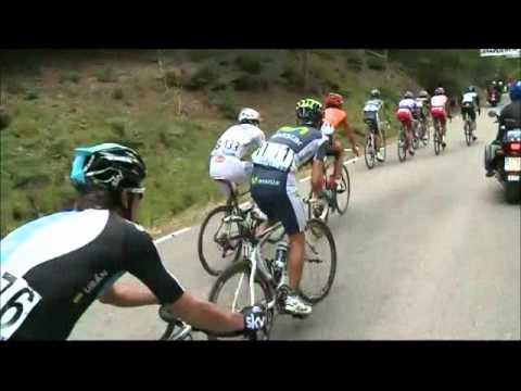 Vuelta a Burgos 2012; Etapa 5 Comunero de Revenga - Lagunas de Neila 05-Ago; Johan Esteban Chaves