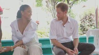 Prince Harry and Rihanna take HIV test together