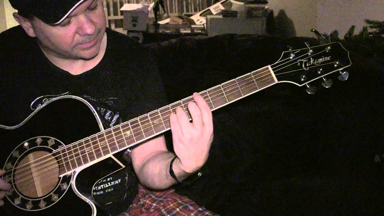 How To Play Tangled Up In You By Aaron Lewis Youtube