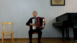 танго Ермолаев Иван аккордеон отчётный концерт