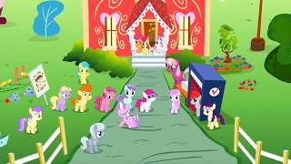 Cutie Mark Crusaders vs Diamond Tiara - El Voto [Español Latino] [1080p] + Letra