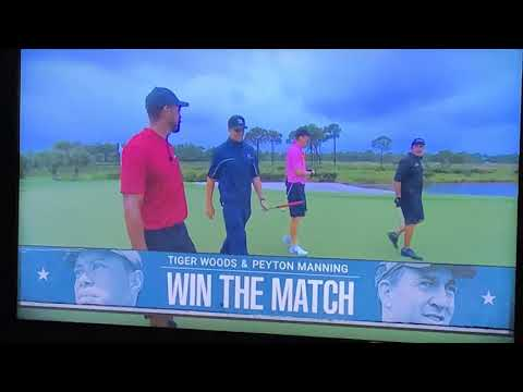 Tiger Woods And Peyton Manning Win The Match II - A Fun-To-Watch Sports Event