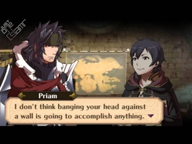 Fire Emblem Awakening - Priam & Morgan (Male) Support Conversations
