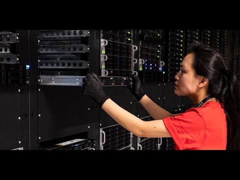 Inside the heart of an IBM Cloud Data Center