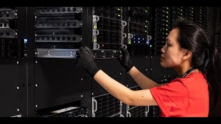 Inside the heart of an IBM Cloud Data Center - YouTube