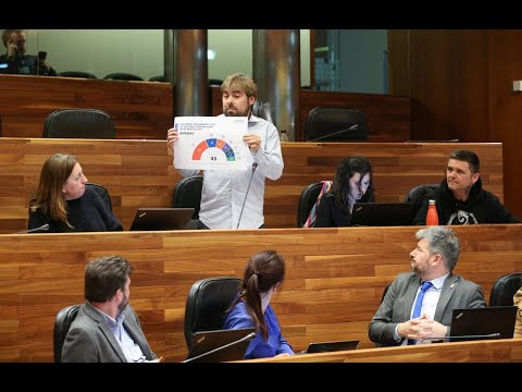 ¿Desbloquearán la reforma de la ley electoral asturiana en sintonía con el debate a nivel estatal?