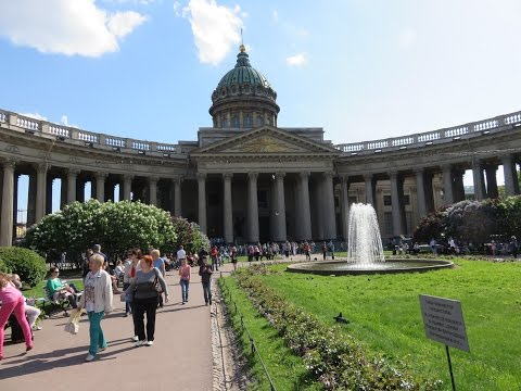 Kazan Cathedral on Nevsky Prospekt, Saint Petersburg , Russia