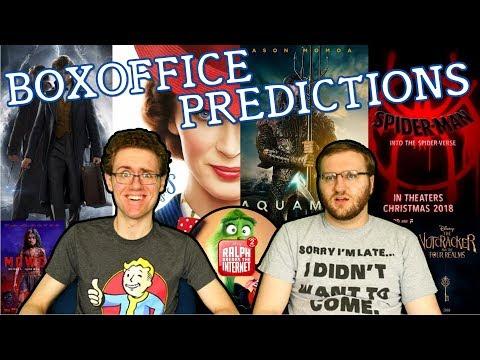 Box Office Predictions: Holiday 2018
