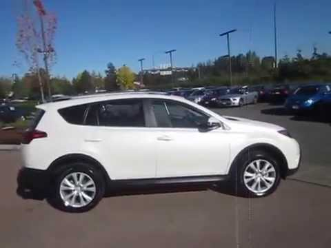 2013 Toyota Rav4 Blizzard White Pearl Stock 14 2672a