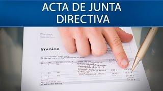 Video Actas de junta directiva y asamblea. - Supersociedades [Derecho comercial] download MP3, 3GP, MP4, WEBM, AVI, FLV Juli 2018