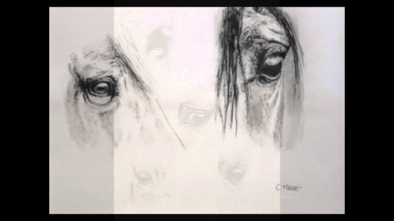 Peintures en noir et blanc youtube - Stickers muraux noir et blanc ...