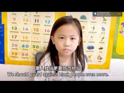 Chinese Mum Teaches Daughter How To Discriminate Against Blacks