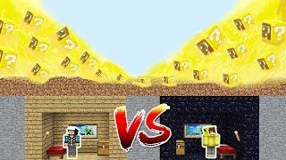 Minecraft ŞANS BLOKLARI'NA KARŞI %100 GÜVENLİ SIĞINAK!
