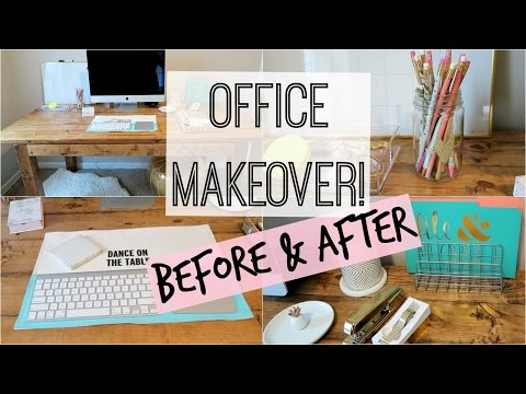 HOME OFFICE MAKEOVER!  PART ONE!
