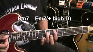 THE THRILL IS GONE Chords B.B. King How To Play On Guitar Lesson EricBlackmonMusicHD