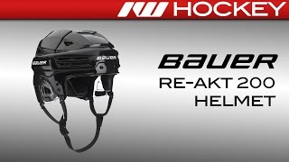 Bauer RE-AKT 200 Helmet Review