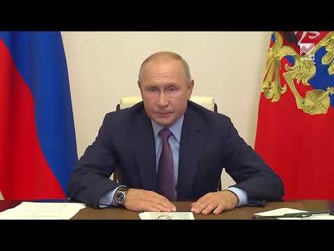 Путин призвал наращивать мощность российского здравоохранения