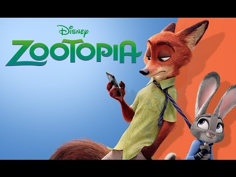 Disney ZOOTOPIA Movie Story Book for Children