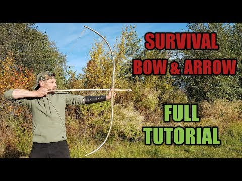 Survival Bow and Arrows ~ Full Tutorial