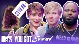 $110 vs. $29.99: Do Sam & Colby Know Crystals Better Than You? | MTV Access
